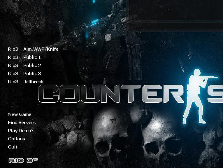 دانلود بازی Counter Strike 1.6 | Rio3 Version برای PC