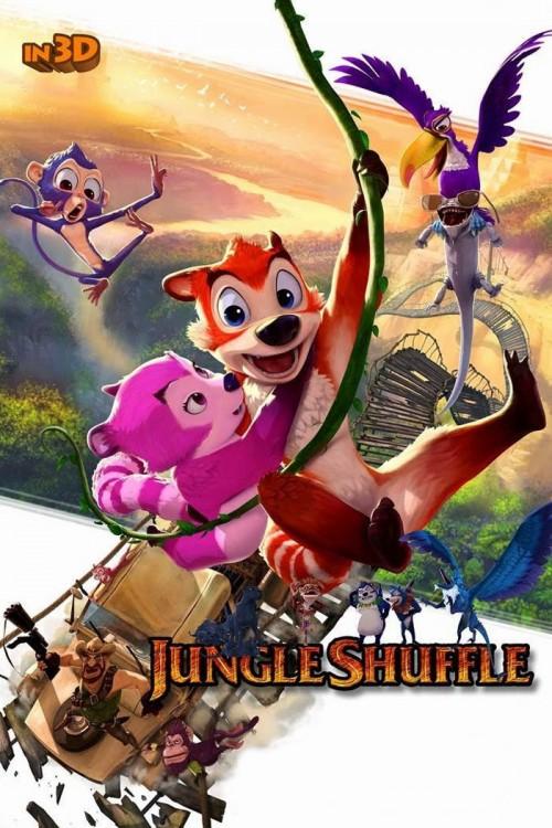 دانلود دوبله فارسی انیمیشن آشوب در جنگل Jungle Shuffle 2014