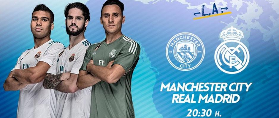رسمی؛ ترکیب تیم های رئال مادرید و منچسترسیتی