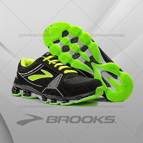 کفش Brooks مدل Farina(سبز)  - کفش ورزشی مردانه