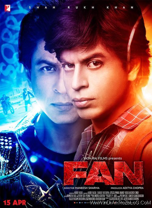دانلود فیلم هندی طرفدار Fan 2016 با دوبله فارسی