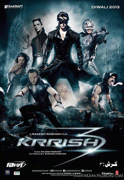 دانلود فیلم هندی کریش ۳ Krrish 3 با دوبله فارسی