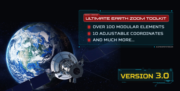 دانلود رایگان Ultimate Earth Zoom Toolkit