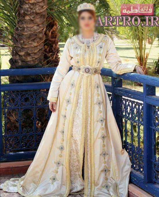 مدل لباس مجلسی مراکشی 2017