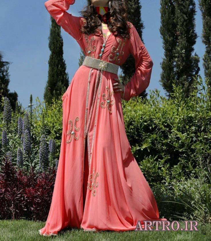 مدل لباس زنانه مراکشی,