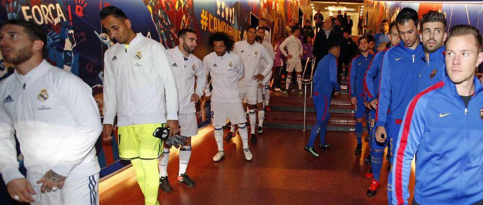 رسمی؛ ترکیب تیم های رئال مادرید و بارسلونا