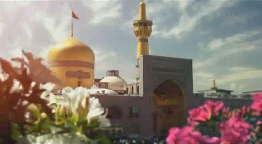 نماهنگ ولادت امام رضا (ع) با مولودی حاج محمود کریمی