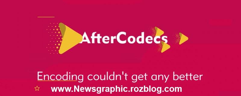 دانولد پلاگین Aftercodecs V1.1.3 برای افتر افکت (پلاگین خروجی mp4 در افتر افکت)