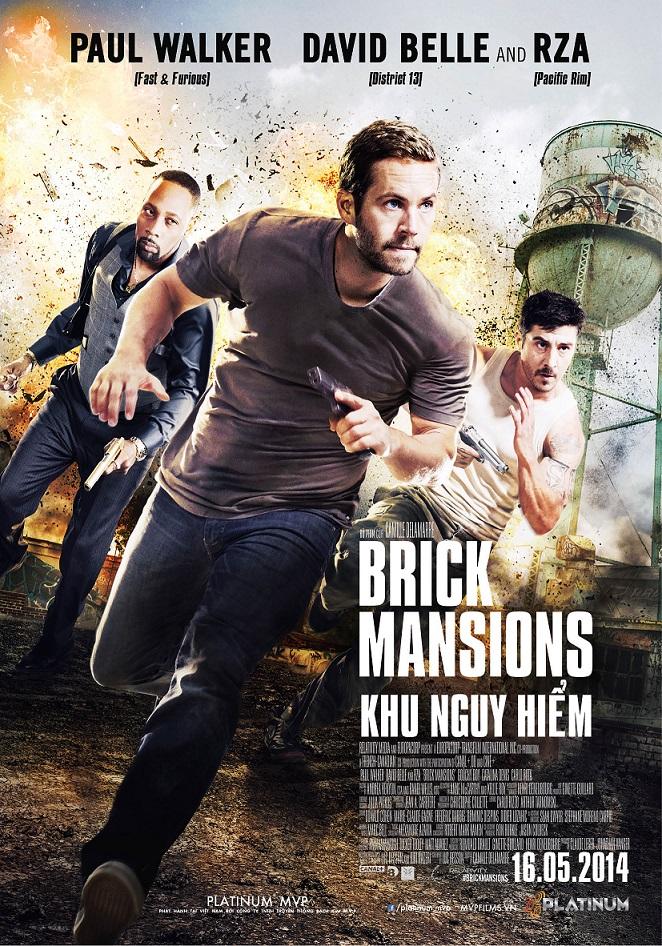 دانلود دوبله فارسی فیلم Brick Mansions 2014