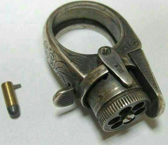 کوچکترین اسلحه تاریخ، انگشتری با قابلیت شلیک