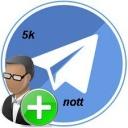خرید 5 کا ممبر تلگرام( نوت)