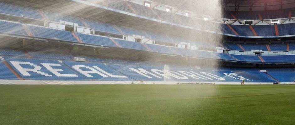 چمن سانتیاگو برنابئو برای فصل 2017/18 آماده شد