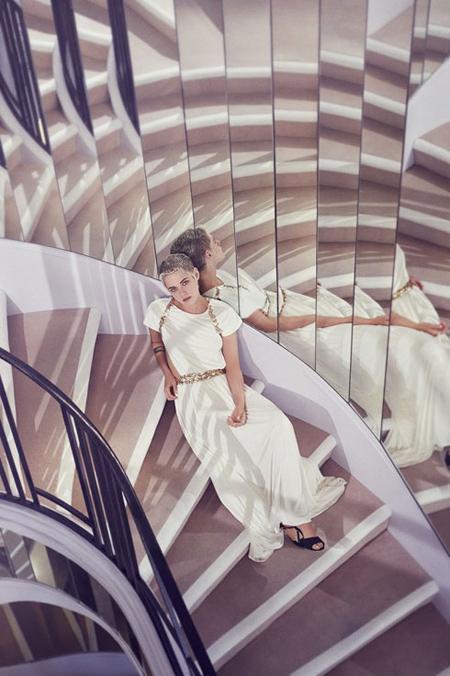 عکس های کریستی استوارت برای مجله هارپر بازار HARPE BAZZAR