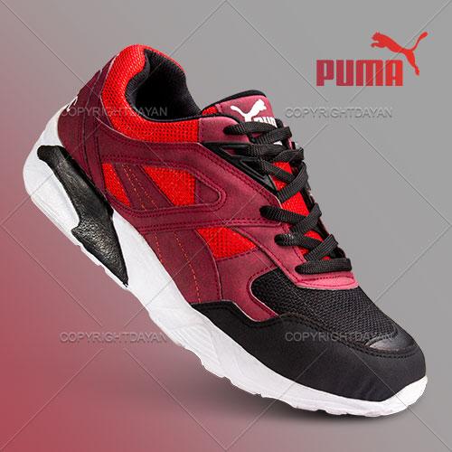 کفش Puma مدل Portis(قرمز)  - کتانی ورزشی پوما