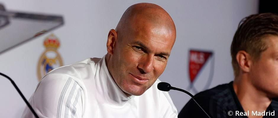 زیدان: رئال مادرید من و مورینیو تفاوتی با هم ندارد