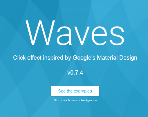 آموزش پیاده سازی افکت فوق العاده و پرطرفدار waves(امواج) با waves.js