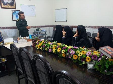 مصاحبه فرماندهی سپاه ممسنی با فرماندهان واحدهای مقاومت
