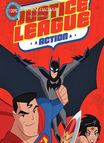 فصل اول انیمیشن Justice League Action 2016+دانلود