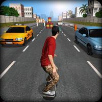 دانلود بازی اسکیت باز خیابانی اندروید Street Skater 3d