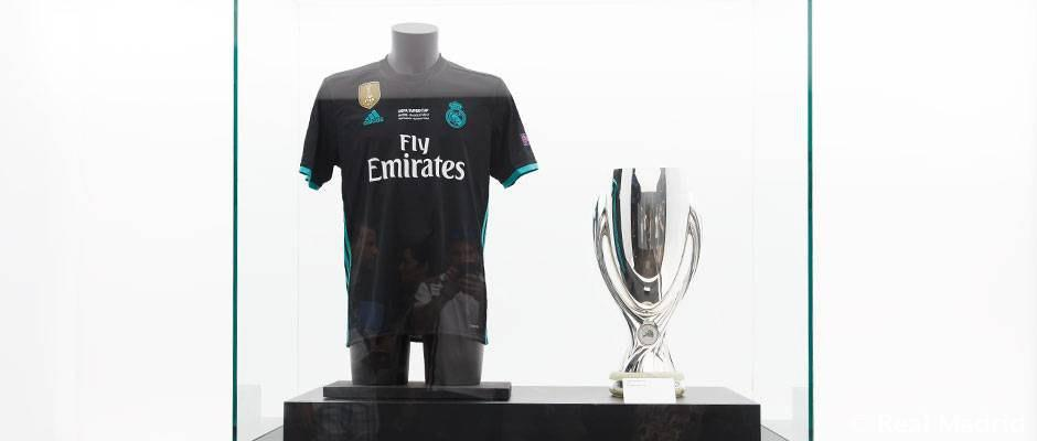 سوپر جام در موزه باشگاه قرار گرفت