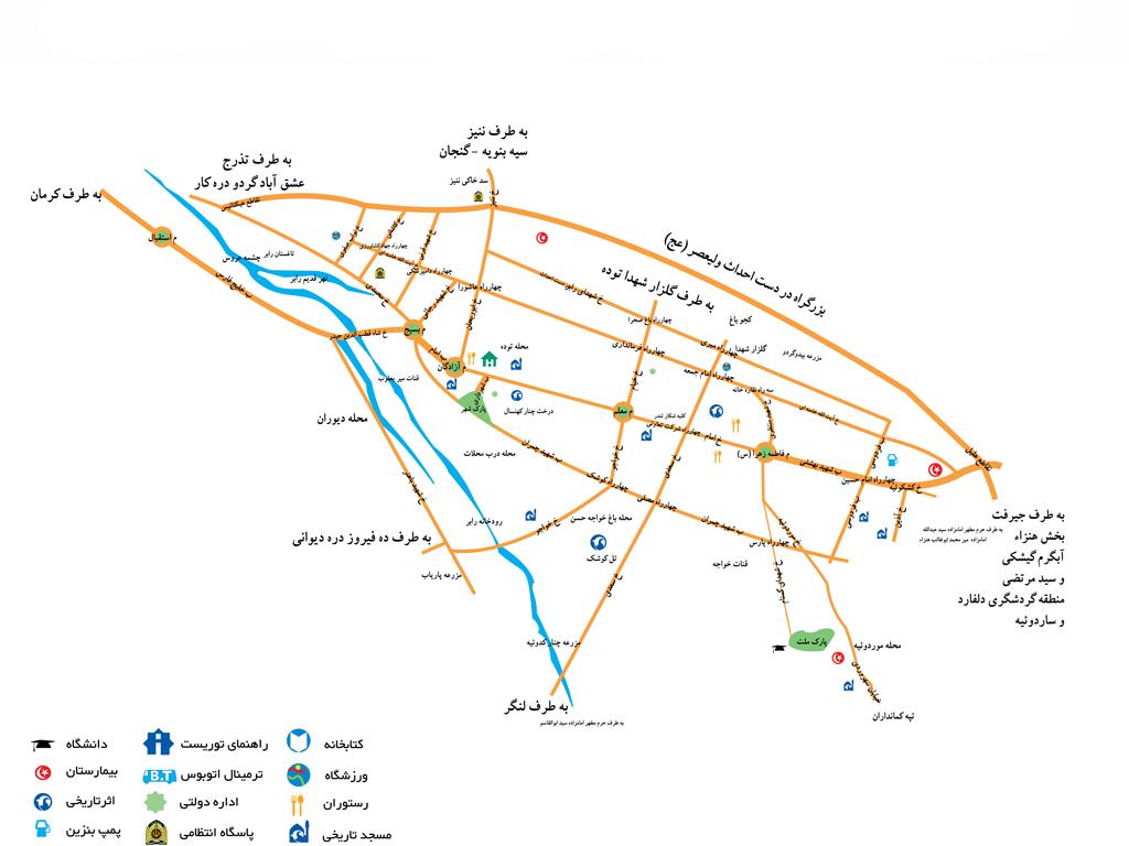 نقشه رابر
