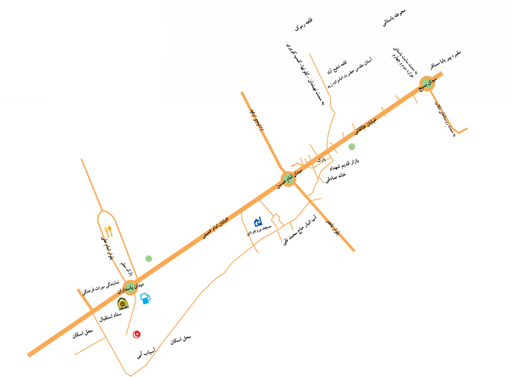نقشه شهداد