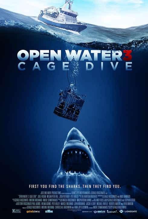 سینمایی Open Water 3 Cage Dive 2017