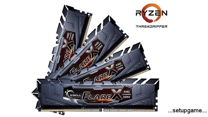 G.Skill حافظههای رم پرسرعت و بهینه شده برای پردازندههای Ryzen Threadripper را معرفی کرد
