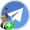 خرید 3 کا ممبر تلگرام( معمولی یا هیدن)