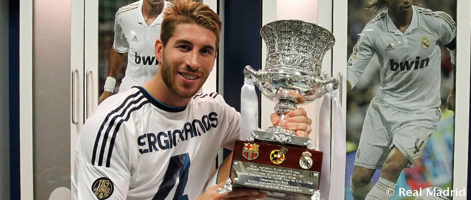 راموس، با تجربه ترین بازیکن رئال مادرید در سوپر جام اسپانیا