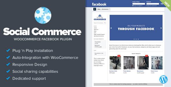 دانلود افزونه Social Commerce