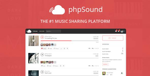 دانلود اسکریپت phpSound