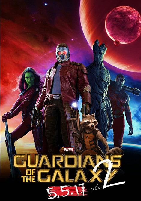 دانلود دوبله فارسی فیلم نگهبانان کهکشان Guardians of the Galaxy Vol. 2 2017