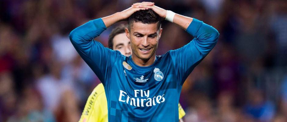 آ اس: درخواست رئال مادرید برای بازپس گیری کارت زرد دوم رونالدو در ال کلاسیکو