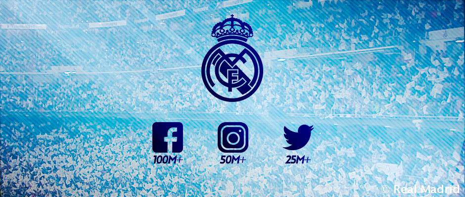 رئال، رکورددار بیشترین دنبال کننده در میان باشگاه های ورزشی در سه شبکه اجتماعی