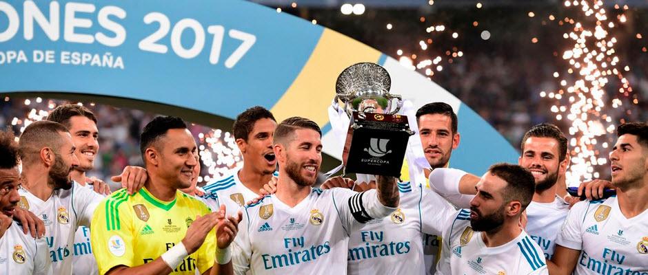 بارسلونا قهرمانی رئال مادرید در سوپر جام اسپانیا را تبریک گفت