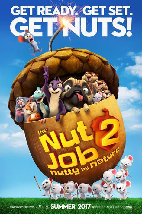 دانلود دوبله فارسی انیمیشن عملیات آجیلی ۲ 2017 The Nut Job 2: Nutty by Nature