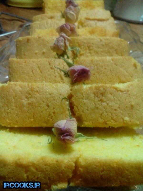 تهیه کیک هل و گلاب