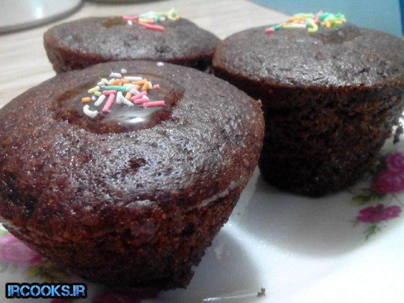 کاپ کیک بدون فر