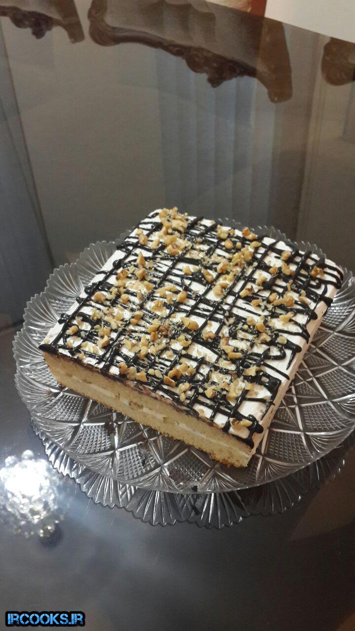 تهیه کیک ساده وانیلی