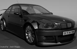 دانلود مدل 3D BMW