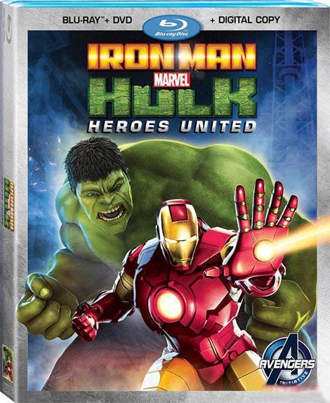 دانلود دوبله فارسی انیمیشن مرد آهنی و هالک: قهرمانان متحد Iron Man & Hulk: Heroes United 2013