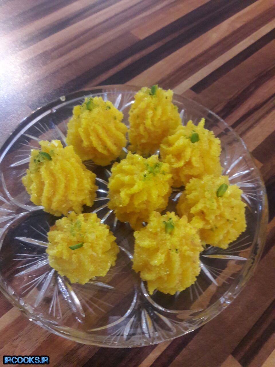 شیرینی رز نارگیلی