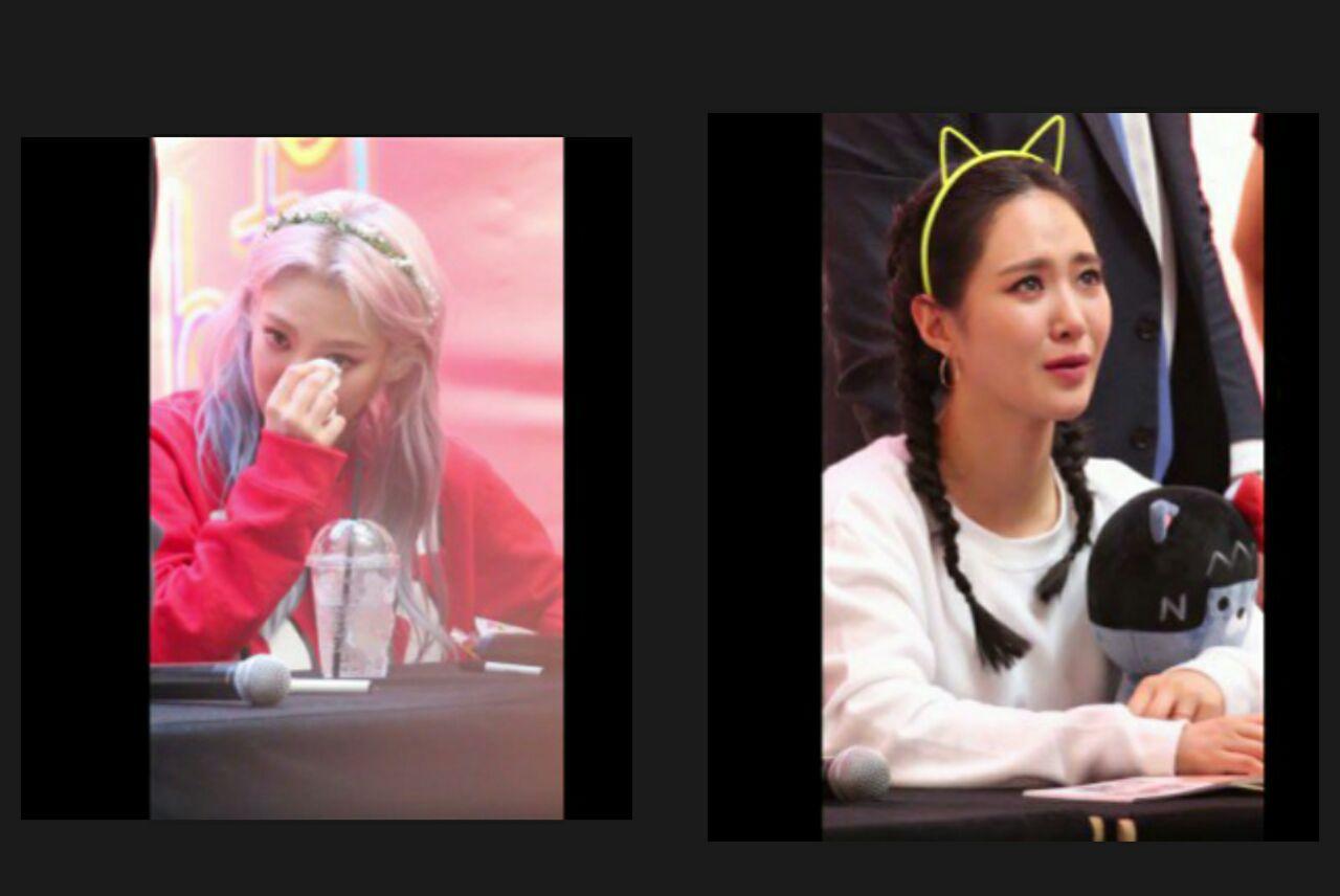 اشک های ذوق دخترای Girls Generation با دیدن یک طرفدار خاص