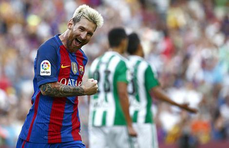 نتیجه بازی بارسلونا و رئال بتیس 29 مرداد 96 | فیلم خلاصه و گلها