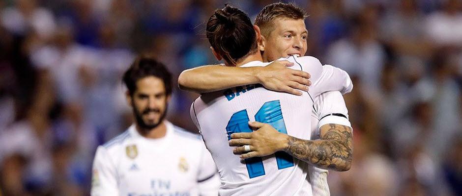 لاکرونیا 0-3 رئال مادرید؛ اولین 3 امتیاز برای مدافع عنوان قهرمانی