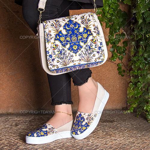 ست کیف و کفش مانلی - ست پوشاک دخترانه