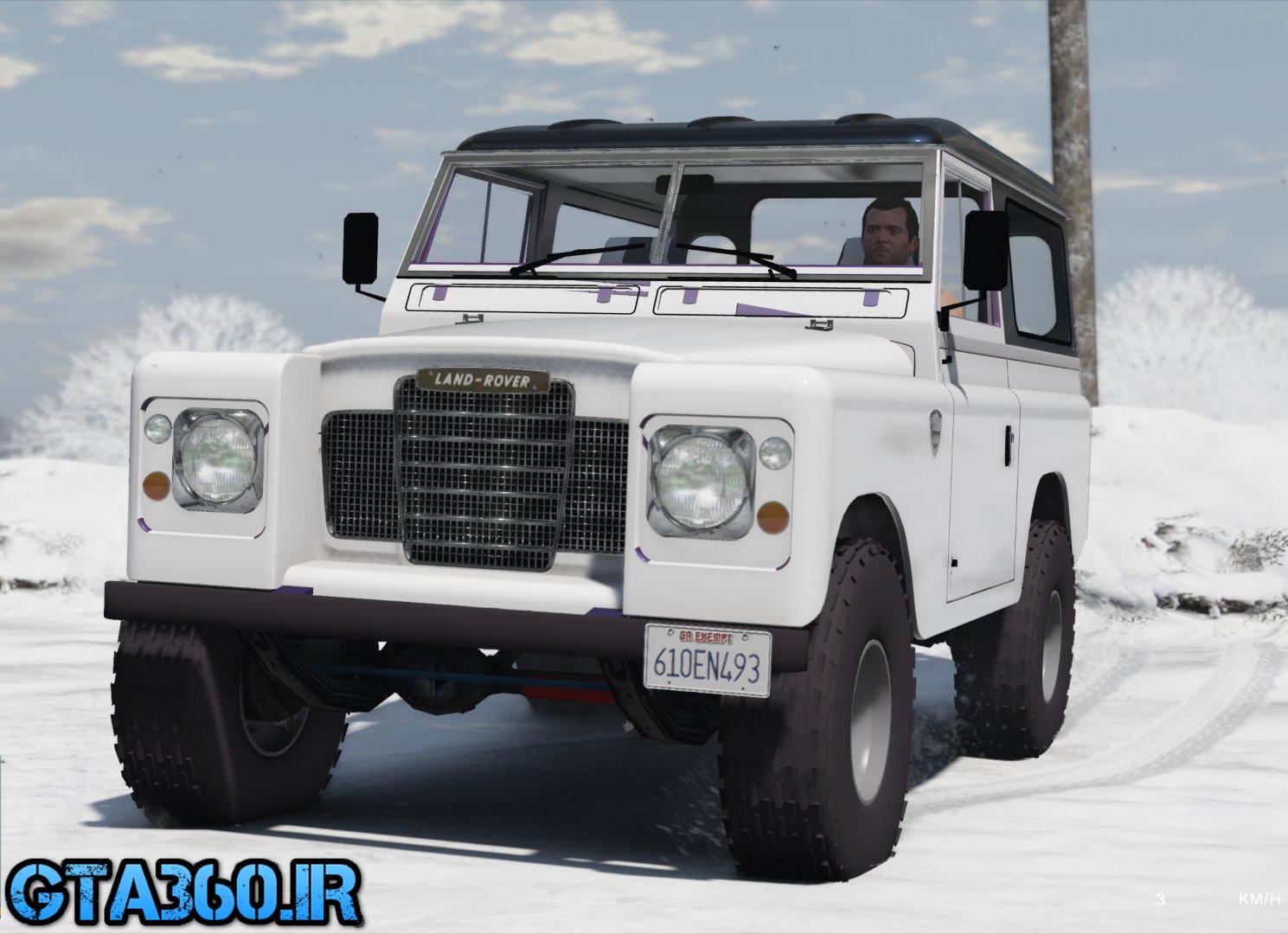 خودرو لندروور سری سه برای gta v