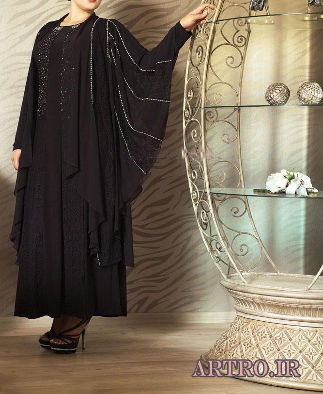 مدل لباس مجلسی بزرگ سایز 2018