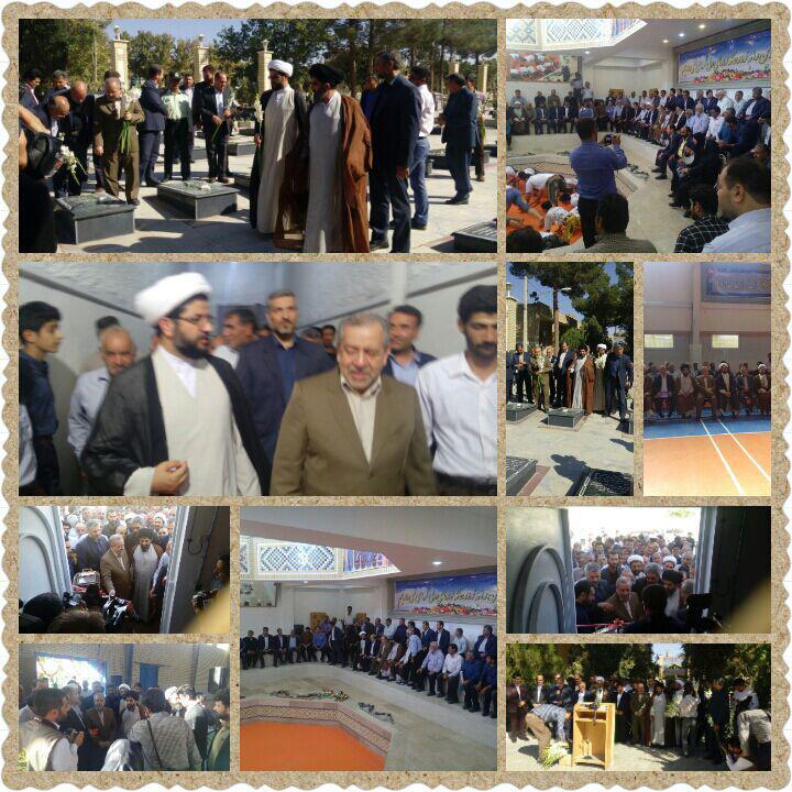 افتتاح چند پروژه عمرانی در شهر قهدریجان توسط استاندار اصفهان جناب دکتر زرگرپور و حاج اقا موسوی لار�